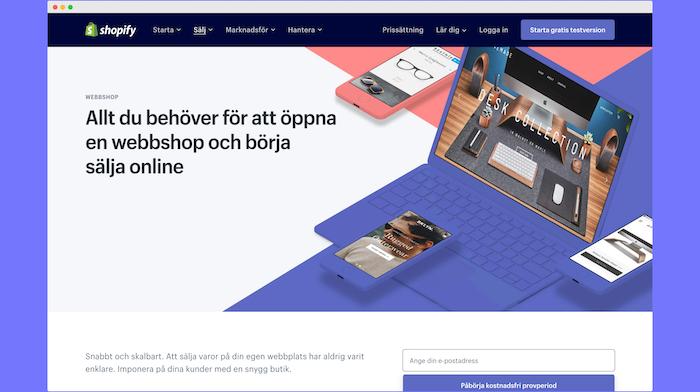 Shopify Sverige